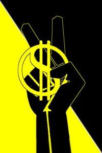 anarcho-capitalist worker symbol