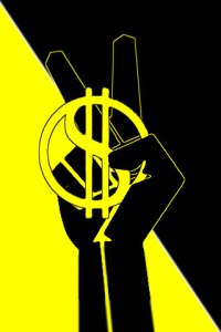 anarcho-capitalist worker symbol