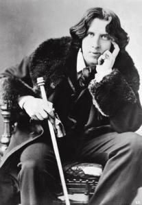 Oscar Wilde and cane