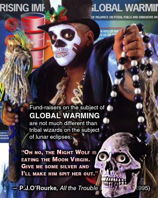 Global Warming Shaman — Fear Equals Funding
