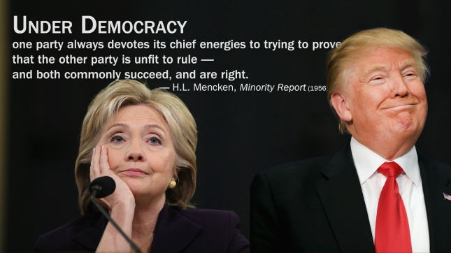 Under Democracy — H.L. Mencken